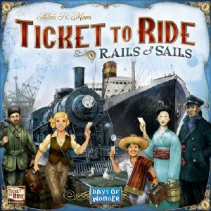 Ticket to Ride: Rails and Sails (Special Offer)